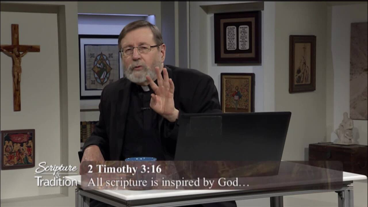 Scripture and Tradition with Fr. Mitch Pacwa - 2021-04-06 -