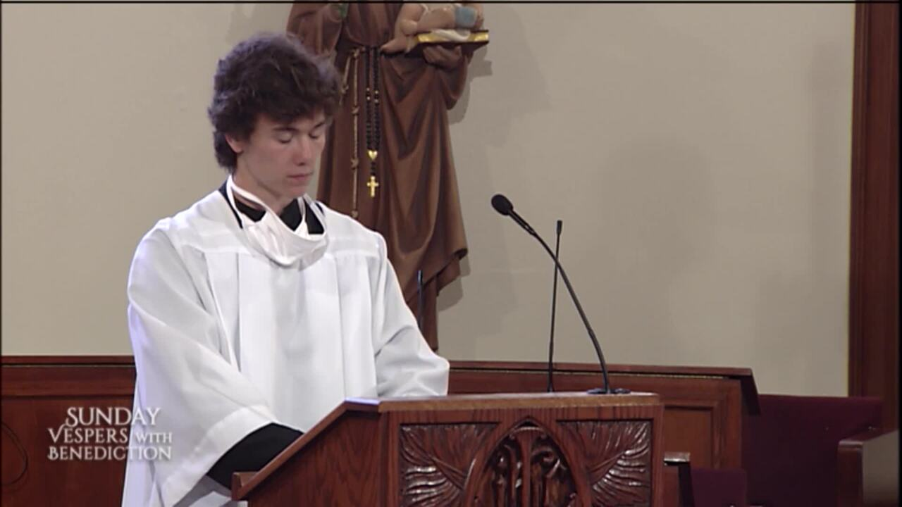 2020-07-05 - Sunday Vespers with Benediction