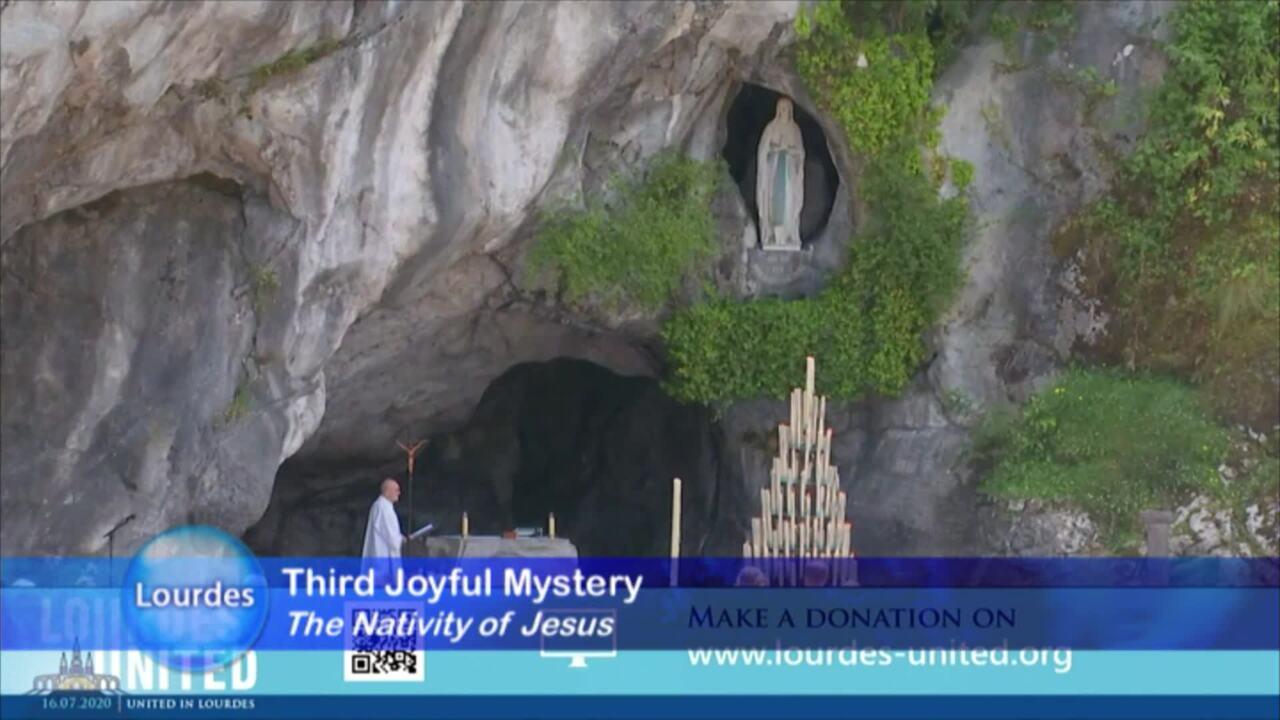 Rosary Novena from Lourdes - 2020-08-03 - Rosary Novena from Lourdes