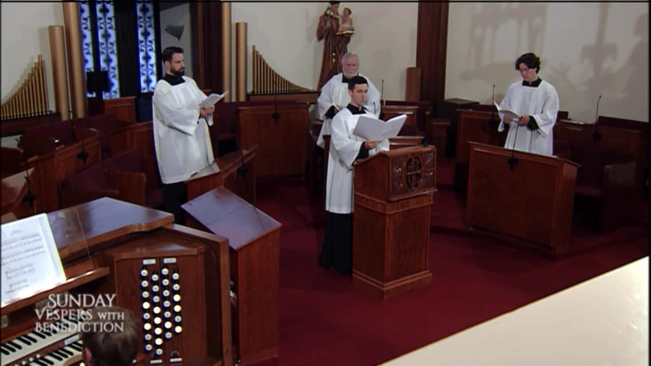 2021-06-06 - Sunday Vespers with Benediction