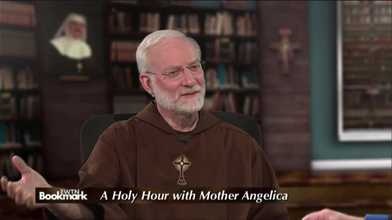 EWTN Bookmark - 2021-04-04 - A Holy Hour with Mother Angelica; Also, My Life with Mother Angelica