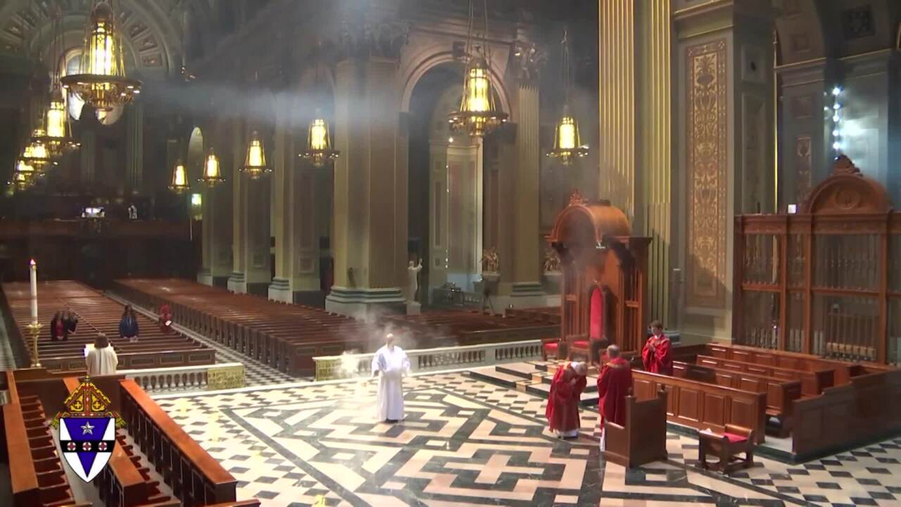 2020-05-31 - Extended Vigil Mass of the Solemnity of Pentecost from Phil