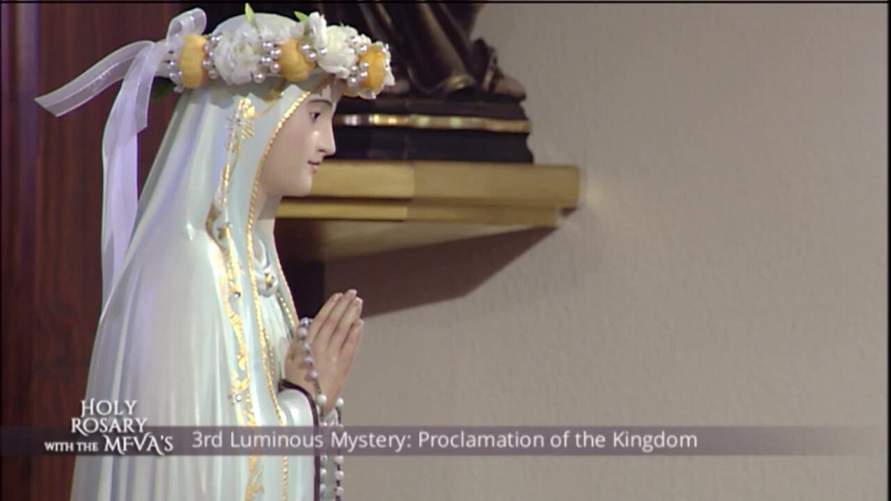 Holy Rosary with the Franciscan Missionaries of the Eternal Word - 2020-05-21 - Holy Rosary with the