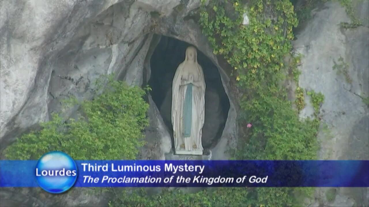 Rosary Novena from Lourdes - 2020-03-26 - Rosary Novena from Lourdes