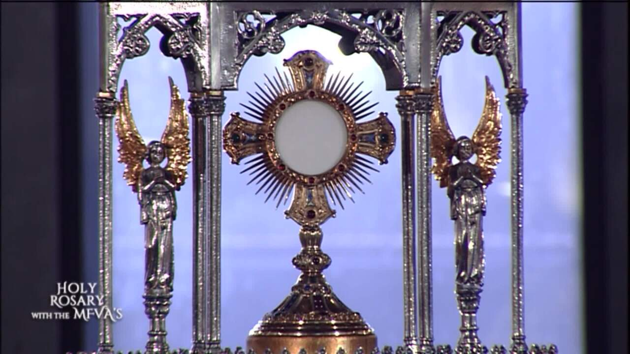 Holy Rosary with the Franciscan Missionaries of the Eternal Word - 2020-05-15 - Holy Rosary with the