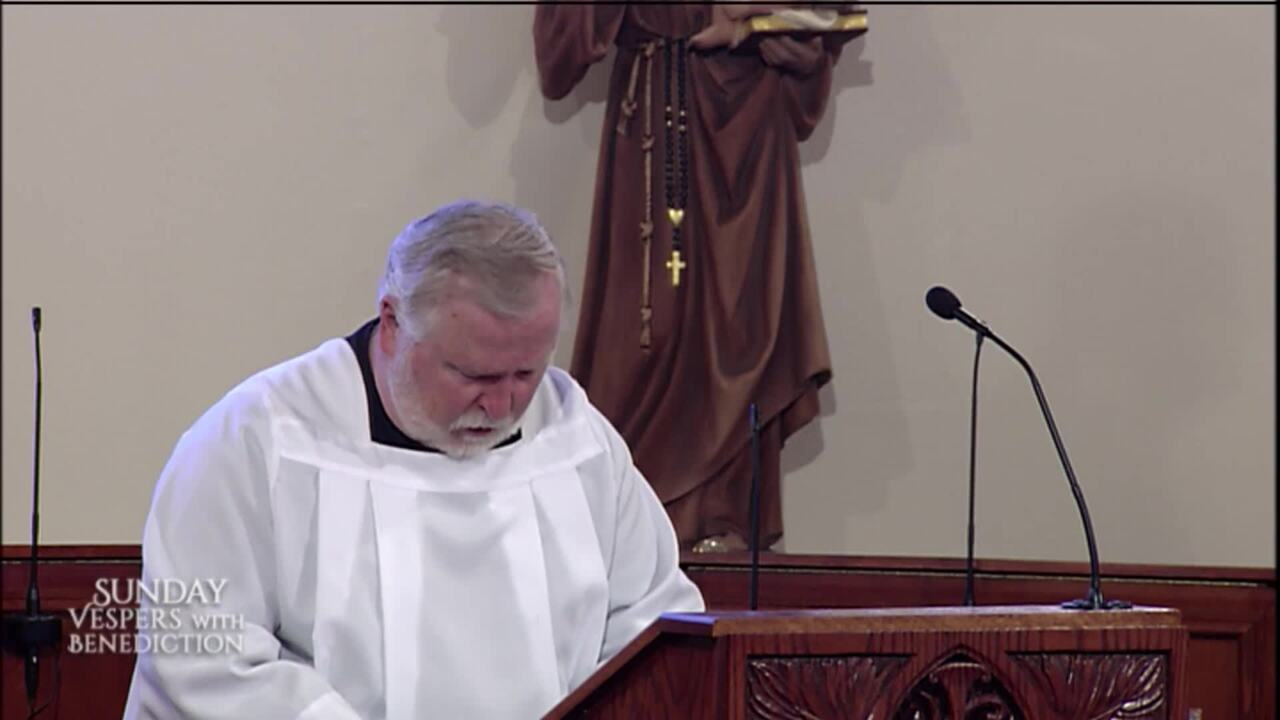 2020-05-03 - Sunday Vespers with Benediction