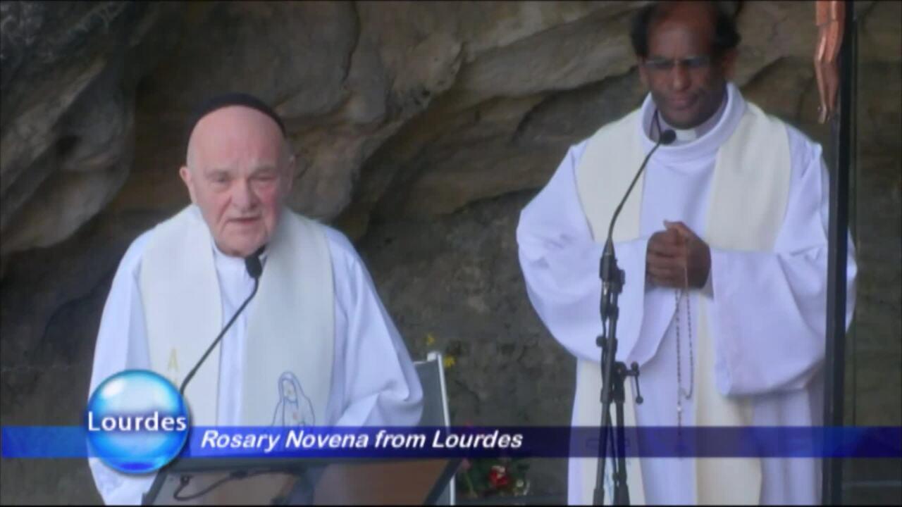 Rosary Novena from Lourdes - 2020-03-27 - Rosary Novena from Lourdes