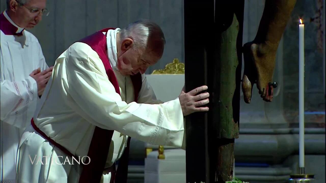 2020-04-19 - Holy Week in the Vatican