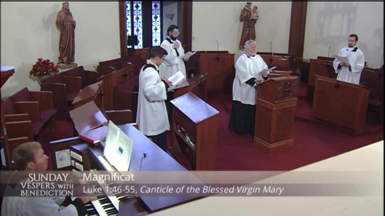 2020-10-11 - Sunday Vespers with Benediction