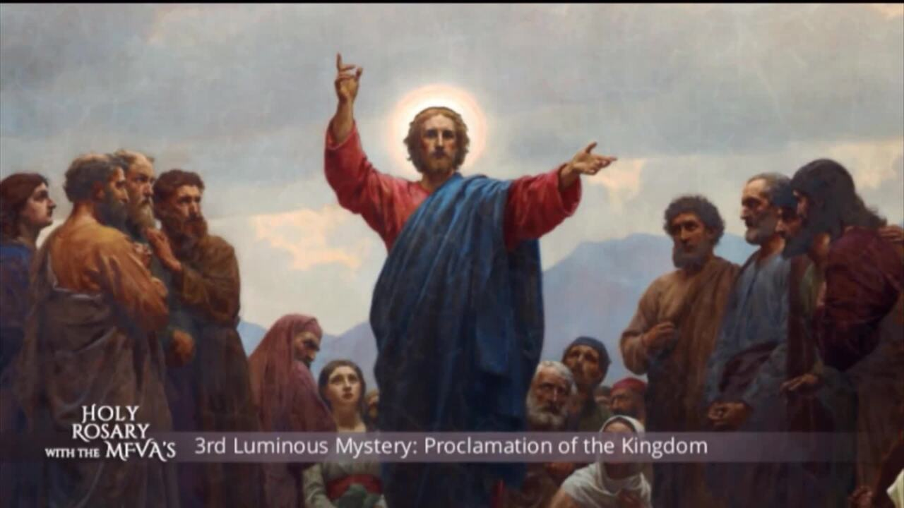 Holy Rosary with the Franciscan Missionaries of the Eternal Word - 2020-05-28 - Holy Rosary with the