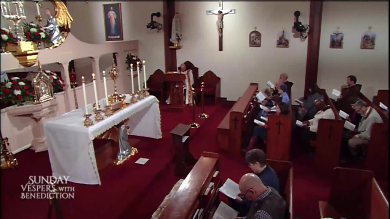 2020-02-09 - Sunday Vespers with Benediction