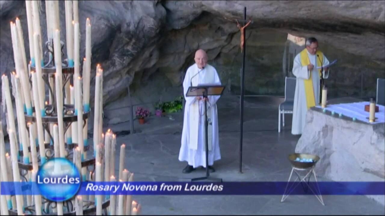 Rosary Novena from Lourdes - 2020-04-04 - Rosary Novena from Lourdes