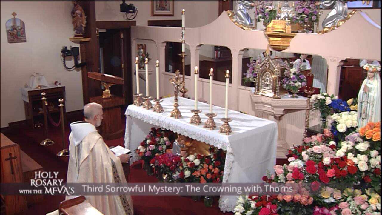 Holy Rosary with the Franciscan Missionaries of the Eternal Word - 2020-05-26 - Holy Rosary with the