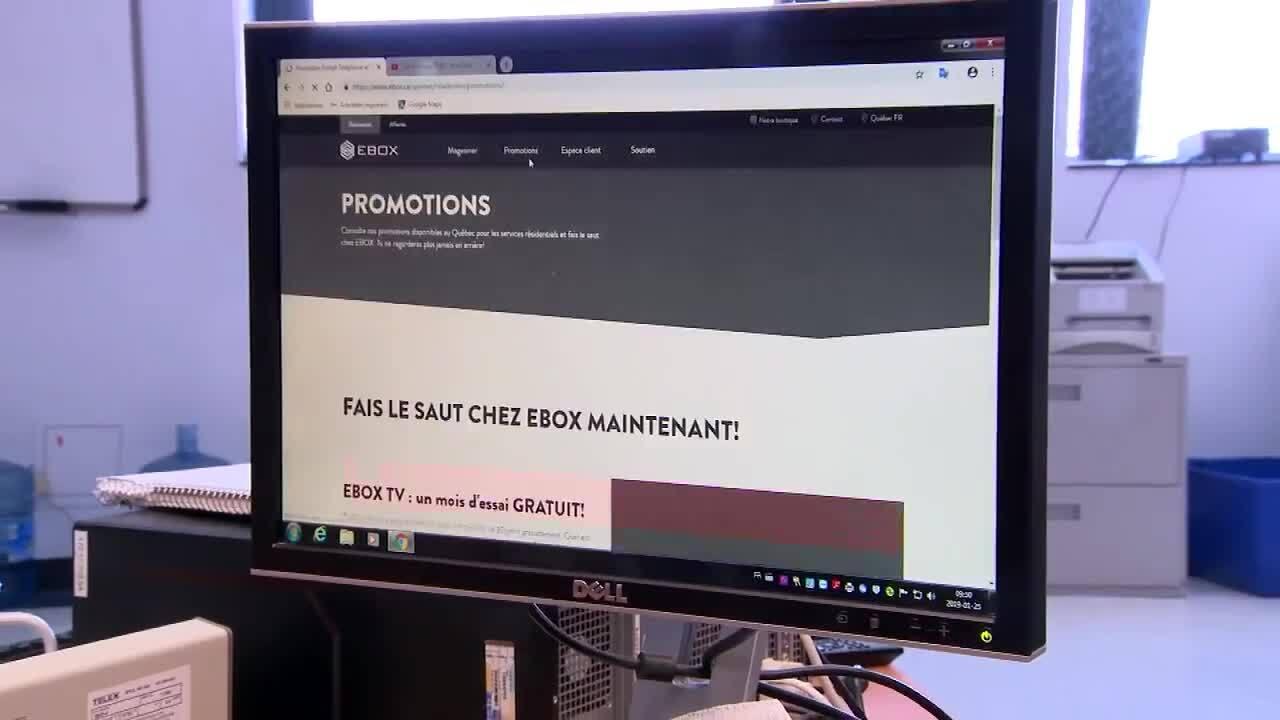Accès à internet haute vitesse en région: la ministre Proulx compte  s'attaquer au problème (Notre reportage)