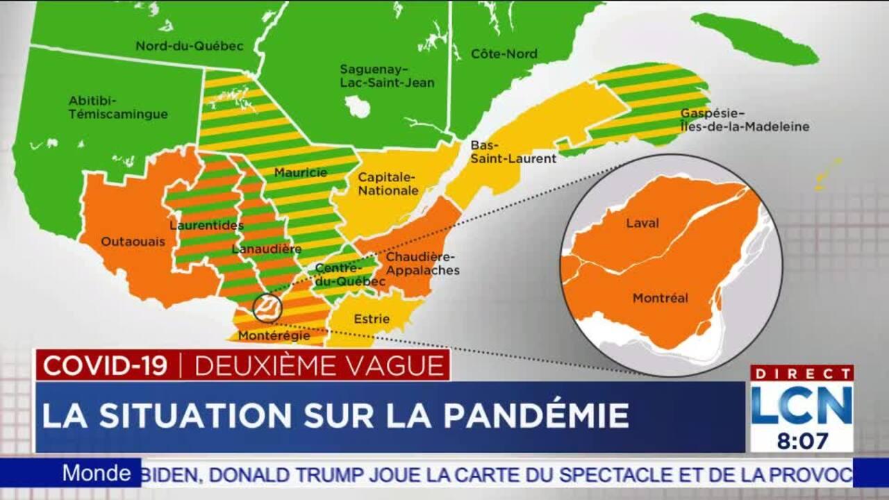 Les Developpements Sur La Covid 19 Du 27 Septembre Tva Nouvelles