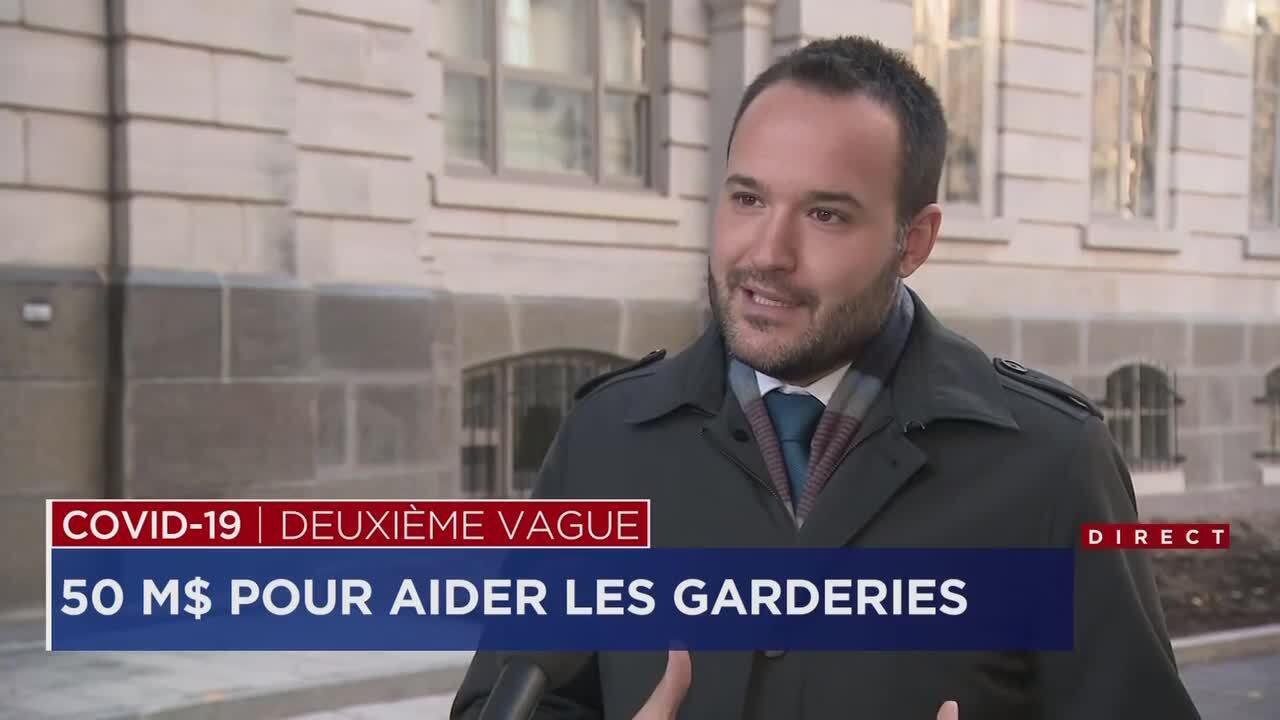 Services de garde subventionnés: Québec allonge 50 millions $ pour les dépenses COVID-19 | TVA Nouvelles