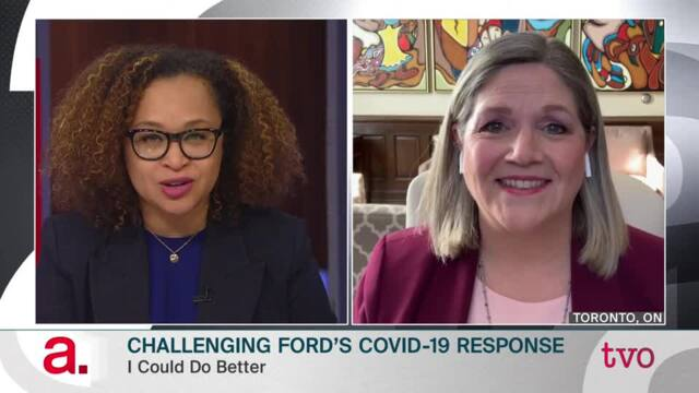 Andrea Horwath: Challenging Ford's COVID-19 Response
