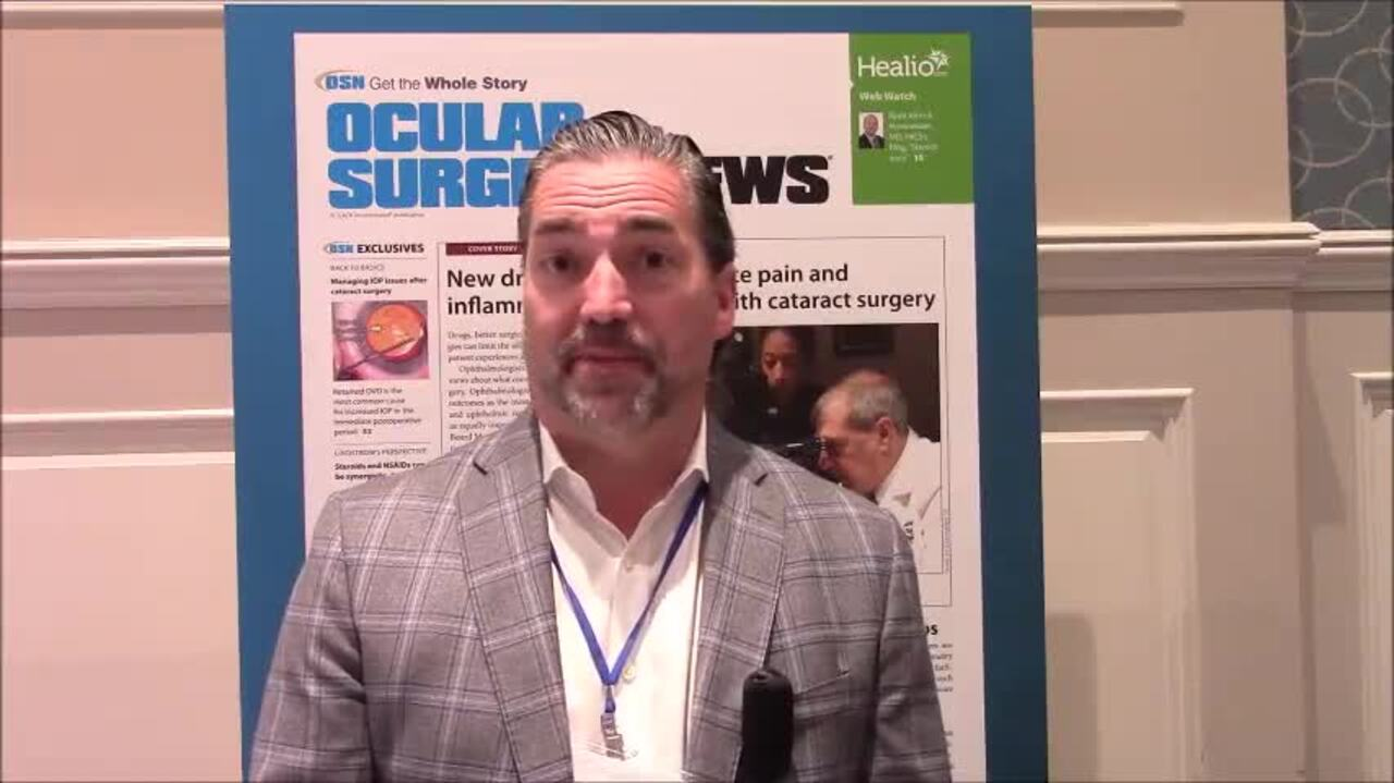 VIDEO: Study shows Omidria lessens need for rings in cataract surgery