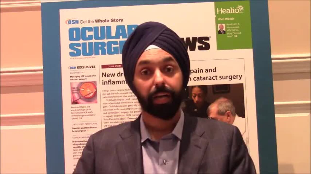 VIDEO: Consider resistance severity in glaucoma treatment decisions