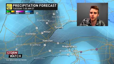 the weather network orangeville ontario