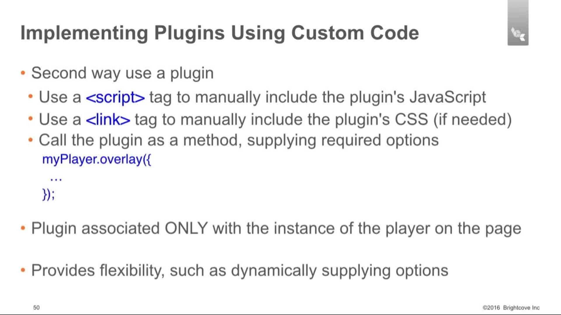DwBP - 8 Part 1 - Configuring the IMA3 Plugin Using Studio