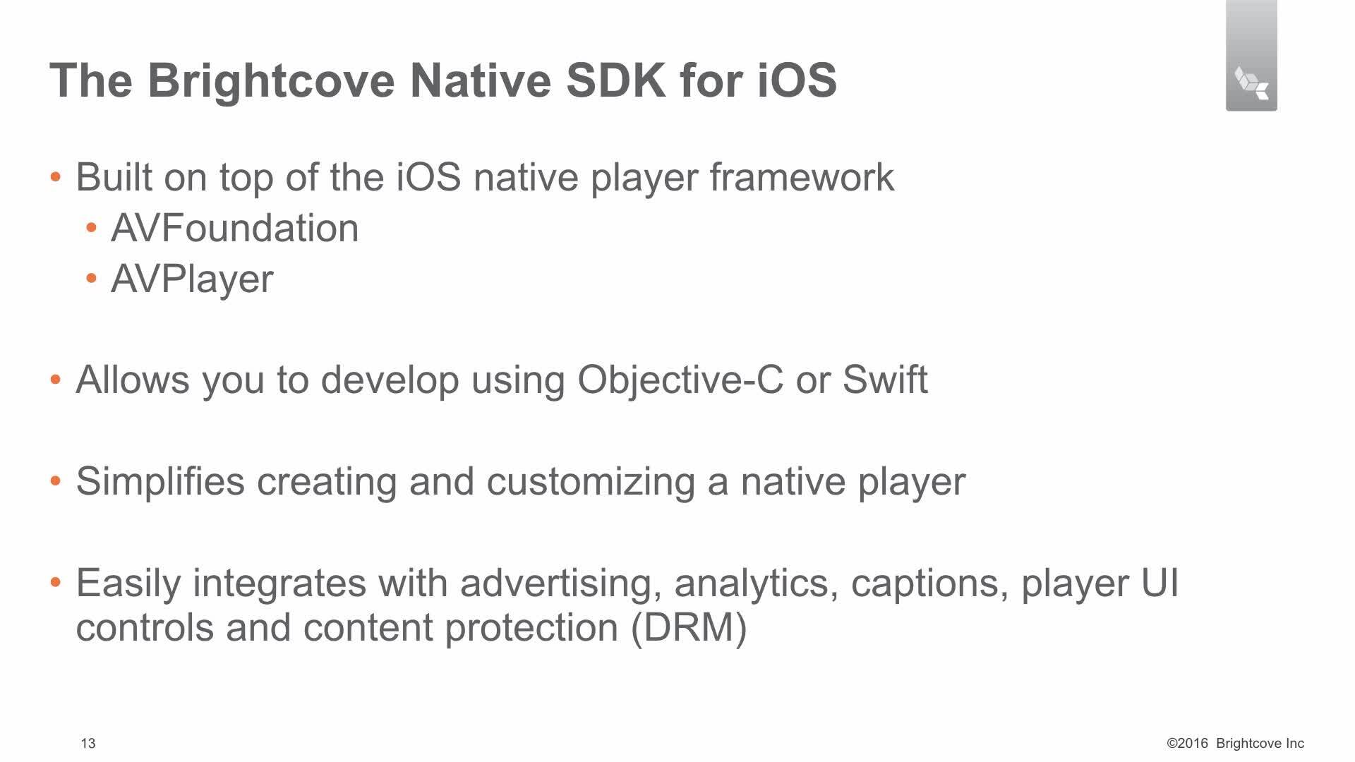 Understanding the Native SDK for iOS