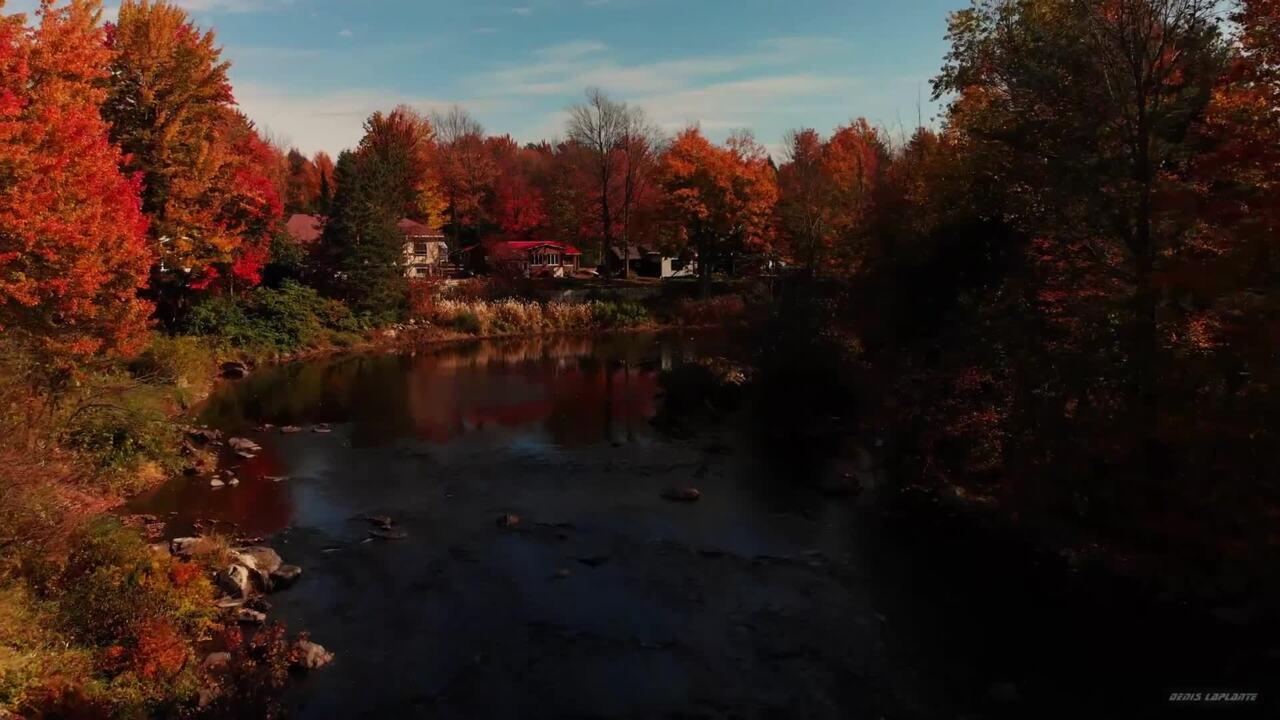 Yamaska river in Brigham Quebec