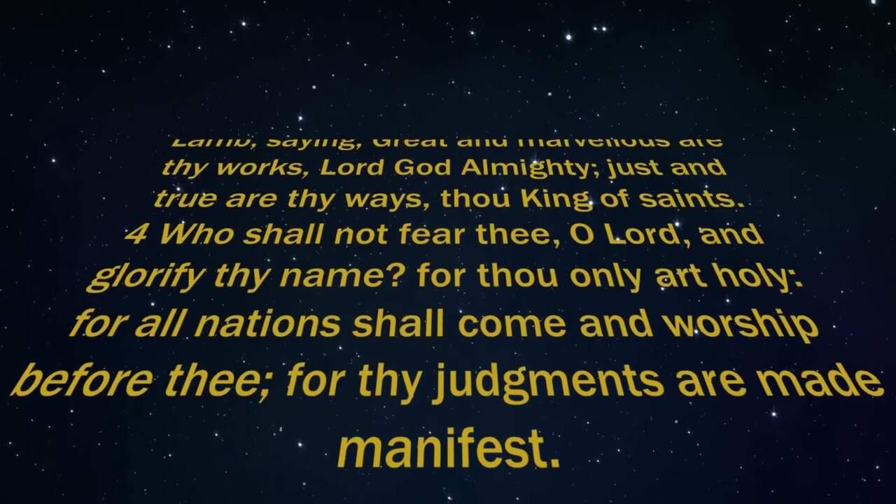 Revelation Chapter 15 (KJV)