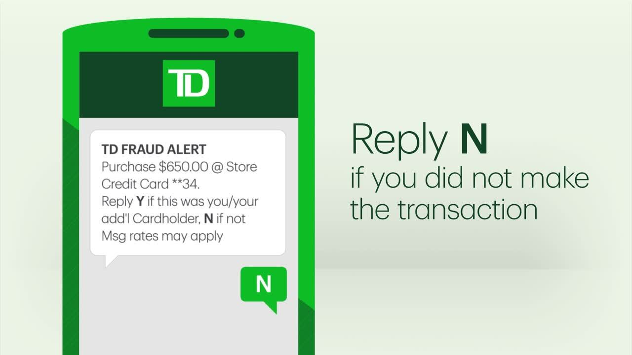 How to use your TD credit card features & payment methods
