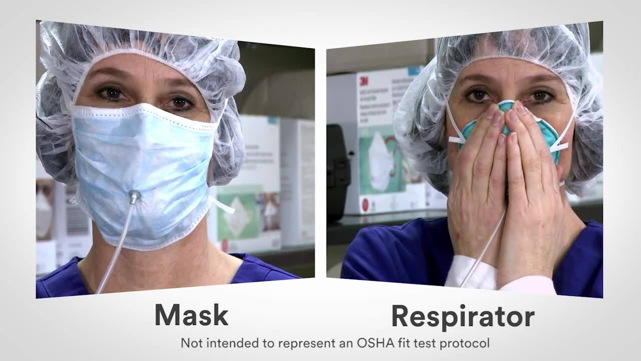 health care mask 3m