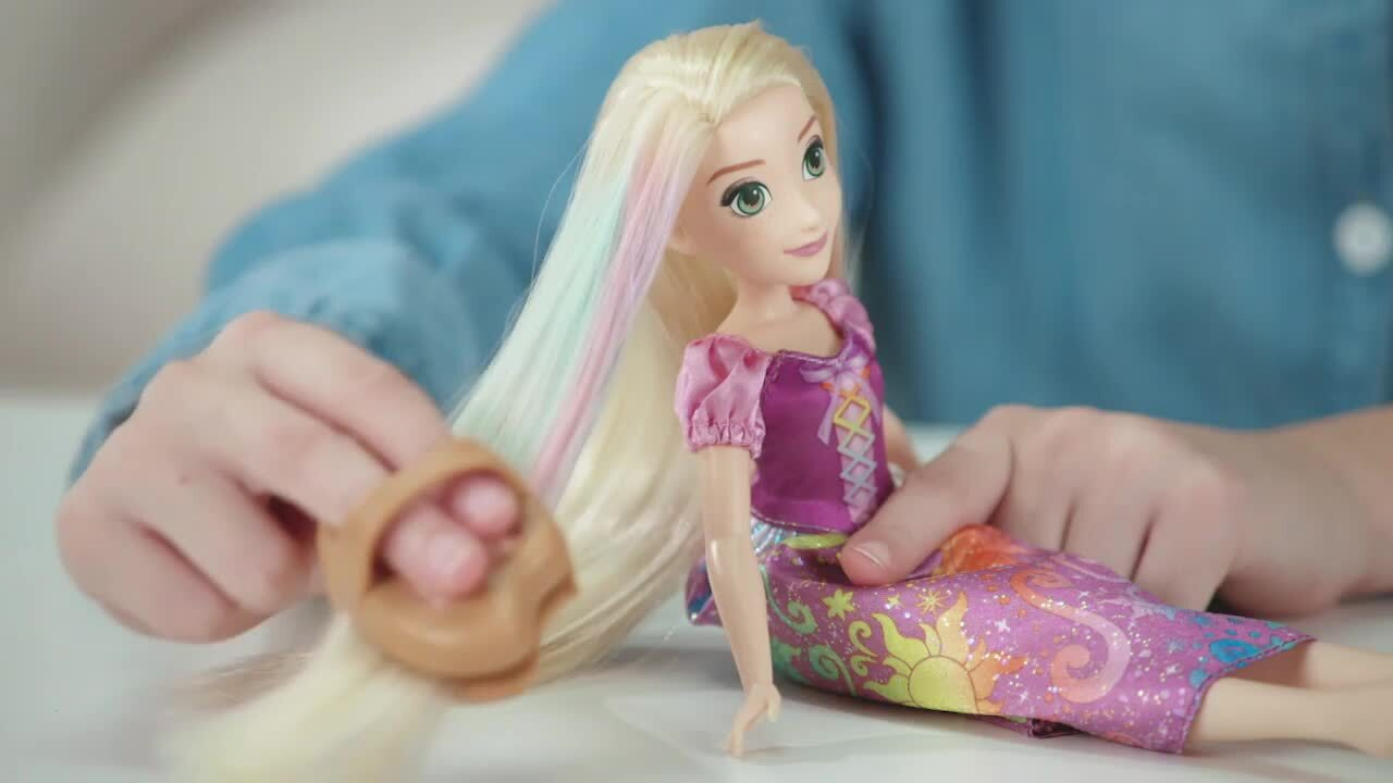 Disney Prenses Gökkuşağı Saçlı Rapunzel
