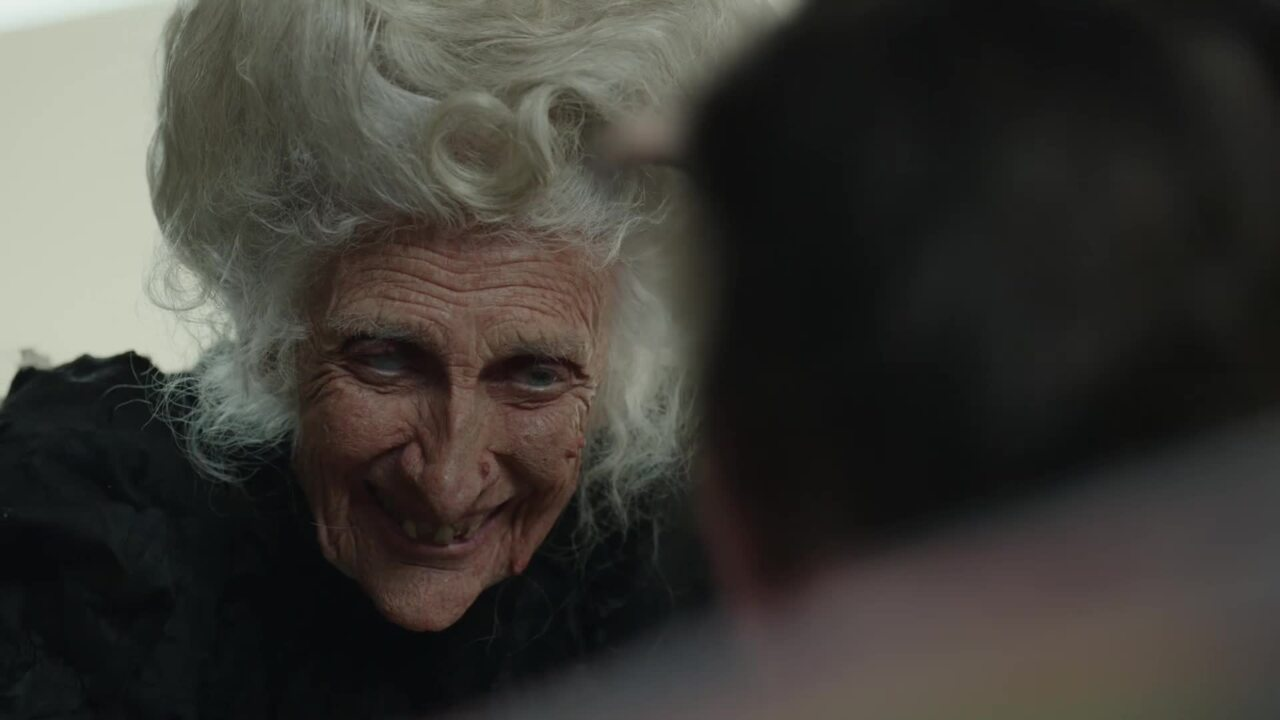 Geico's Halloween campaign stars a witch with her own cooking show