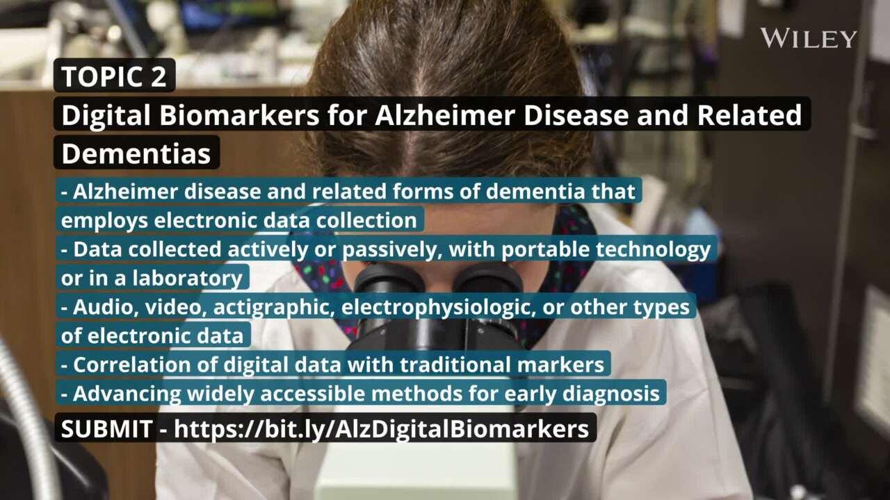 Alzheimer's & Dementia: Diagnosis, Assessment & Disease Monitoring ...