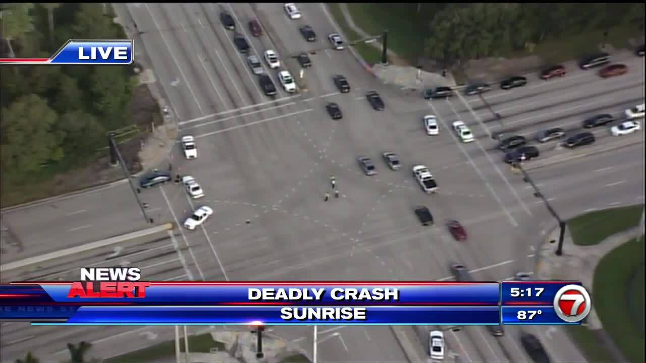 1 dead, several injured after crash near Sunrise intersection – WSVN