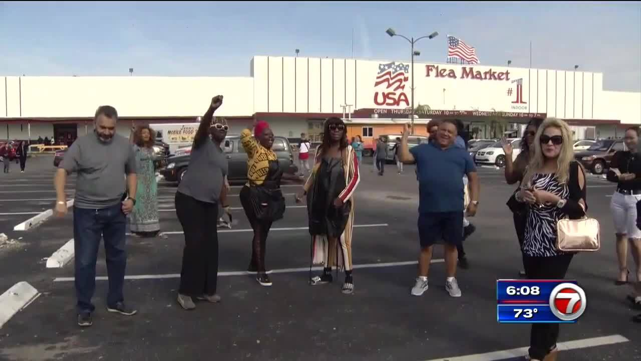 Flea Market Miami >> Flea Market Closure Causes Outrage Among Vendors Wsvn 7news