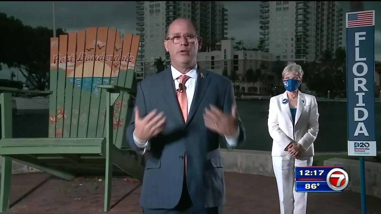 Fred Guttenberg Publicly Endorses Joe Biden During Dnc Wsvn 7news Miami News Weather Sports Fort Lauderdale