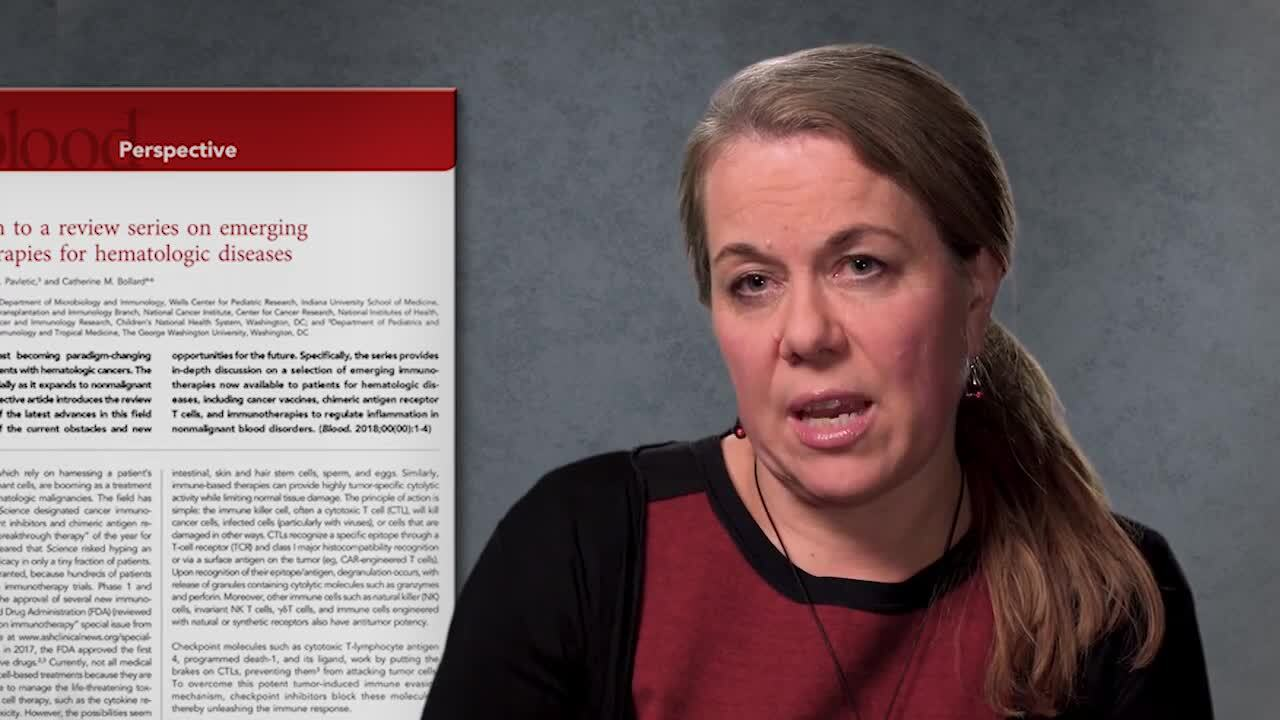 Introduction to a review series on emerging immunotherapies for