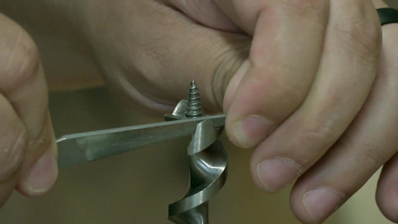 How To Sharpen An Auger Bit