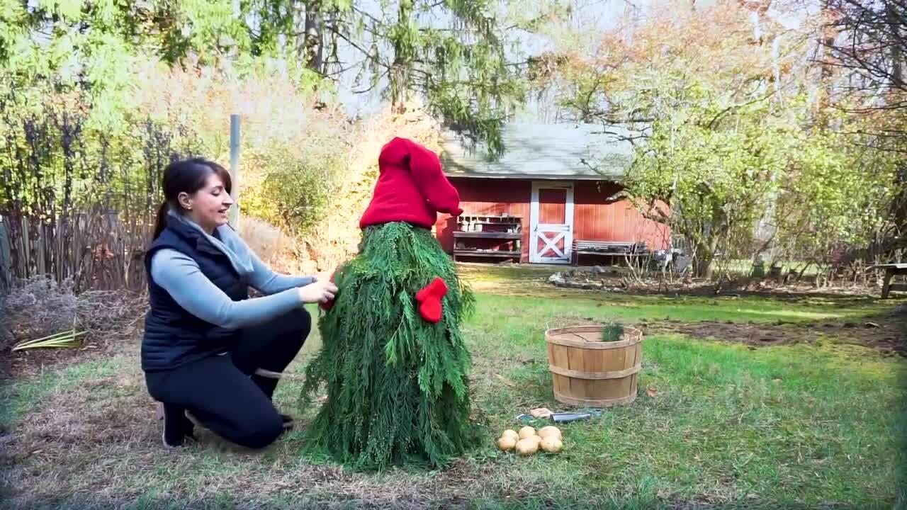 Build a Holiday Garden Gnome