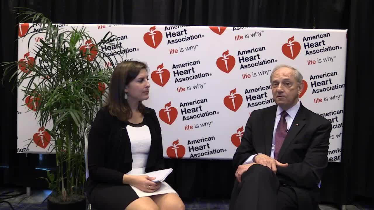 AHA 2016 Wrap-Up: TCTMD's Yael L. Maxwell Interviews Robert Bonow, MD