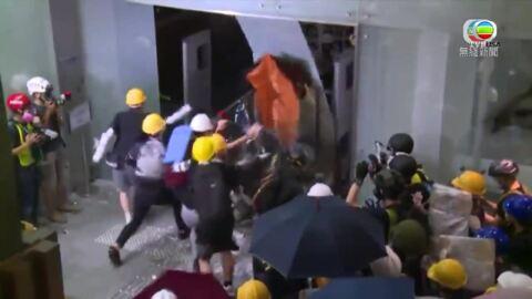 七一衝擊立法會新聞追蹤-Protest on July 1