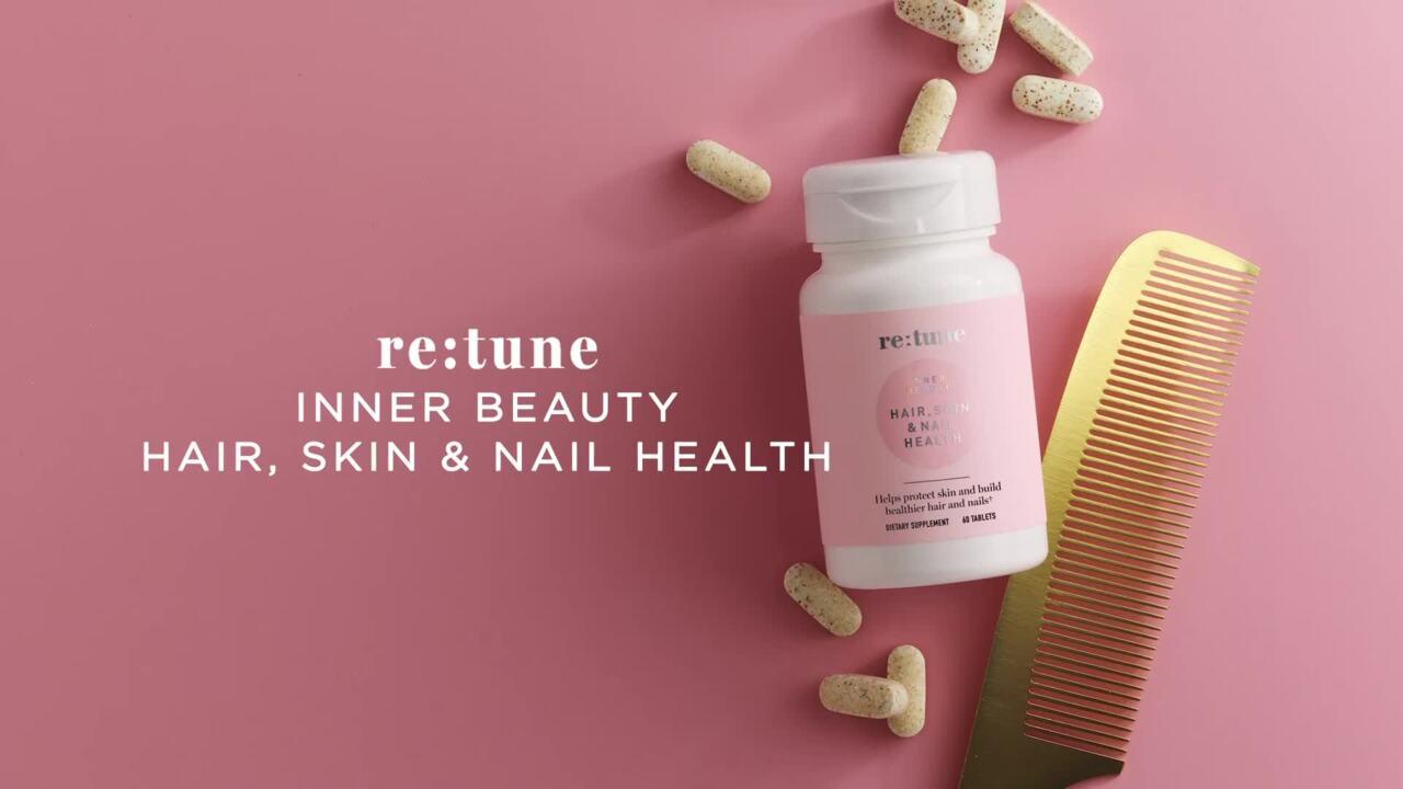 re:tune Inner Beauty Hair/Skin/Nails English