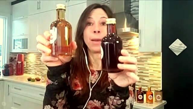 Le sirop d'érable avec la nutritionniste Stéphanie Côté