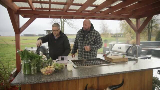 BBQ non-stop avec Hugo Girard
