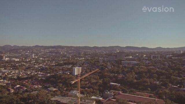 La vue de San Salvador