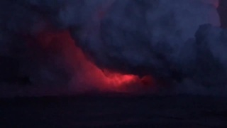 Hawaii lava explosion hits tour boat