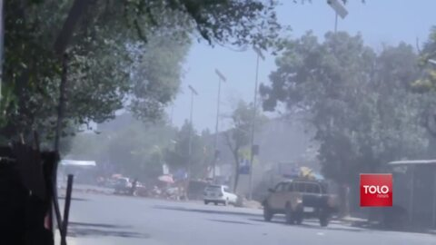 Taliban claims suicide attacks near US embassy and president's rally
