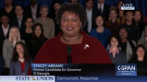 Stacey Abrams appearance at voting rights hearing has political overtones, GOP says