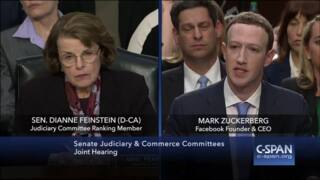 Sen. Feinstein grills Facebook CEO Zuckerberg on foreign interference of elections