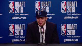 Luka Doncic: 'It's a dream' to play in NBA, alongside 'legend' Dirk Nowitzki